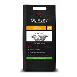 OLIVERS  Chicken Large Breed Puppy Grain Free