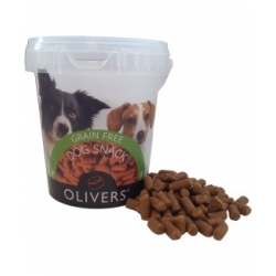 OLIVERS TRAINING BITES GRAIN FREE BEEF